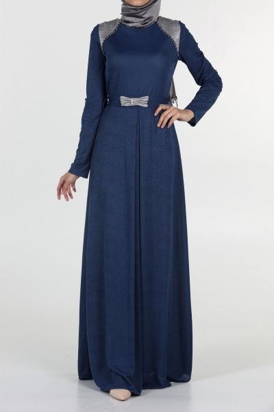 STONE STRIPED DRESS