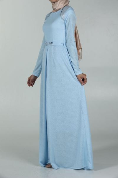 STONY DRESS WITH BELT
