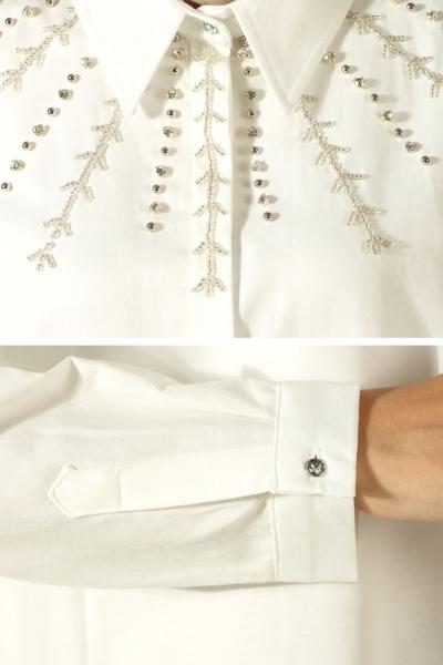 Taşlı Patlı Kloş Gömlek
