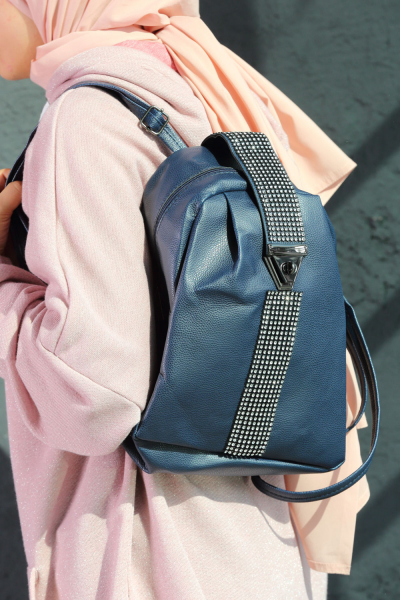 STONE DETAIL BACKPACK