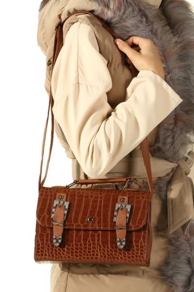 Tokalı Çanta