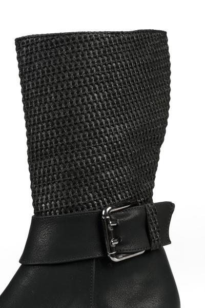Tokalı Fermuarlı Çizme