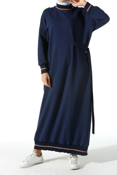 d174b1286eb44 Tesettür Elbise Modelleri - 2019 Yeni Sezon | Allday