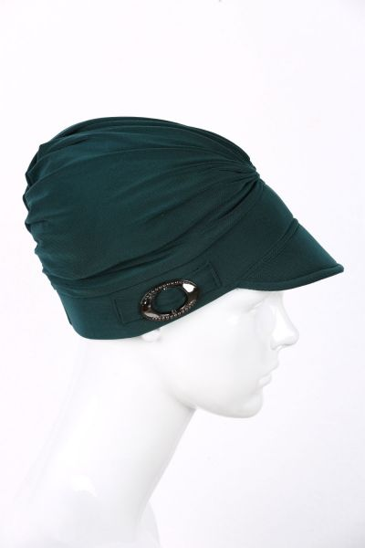 BUCKLED HAT BONNET