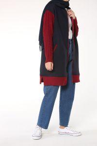 Hooded Knitwear Cardigan