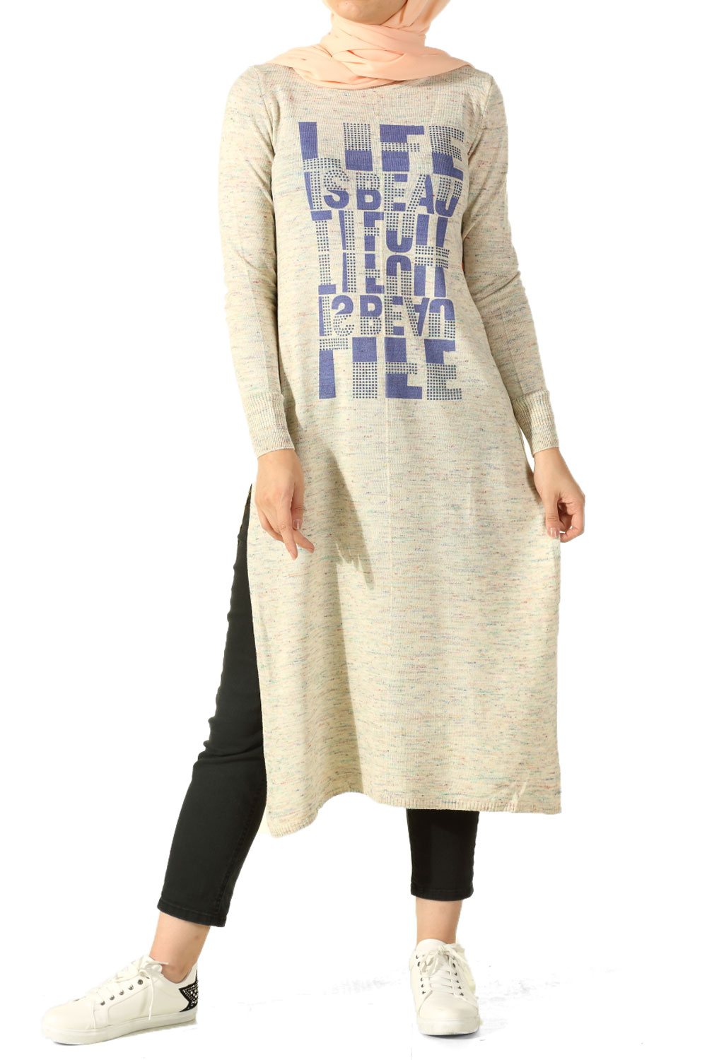 Printed Tricot Tunic