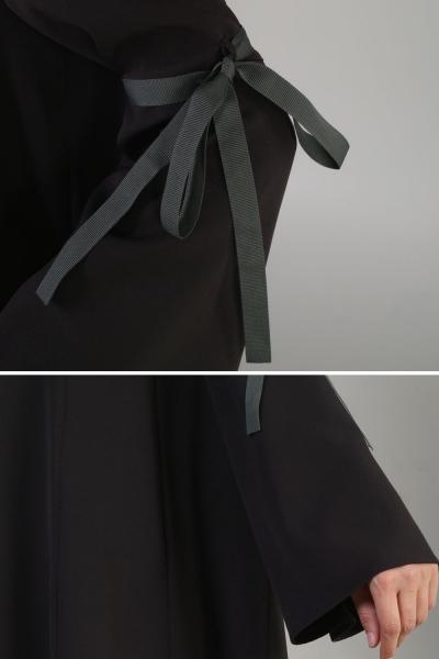 Kolu Bağcıklı Tunik