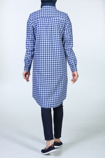 CONFIDENTIAL EMBOSS SHIRT TUNIC
