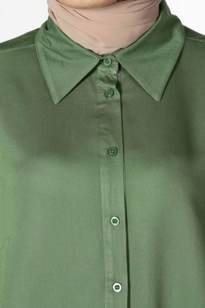 Viscose Half-Puffed Long Tunic