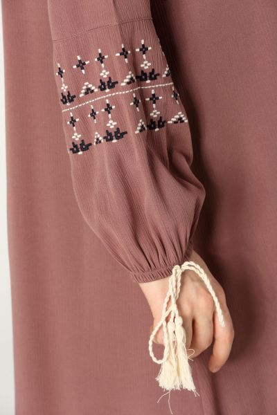 Viscose Embroidered Loose Tunic