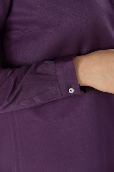 Hidden Patterned Long Shirt Tunic