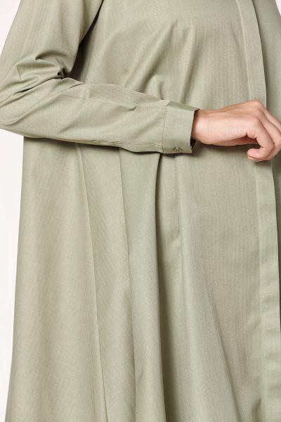 Gizli Patlı Kloş Gömlek Tunik