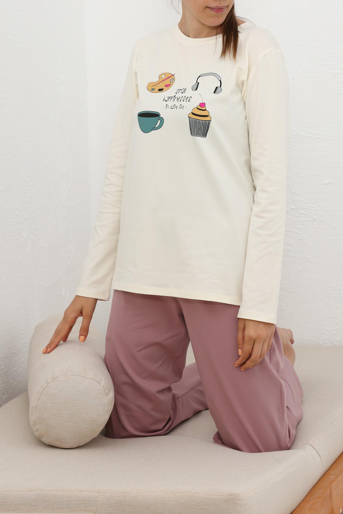 Long Sleeve Printed Pajamas