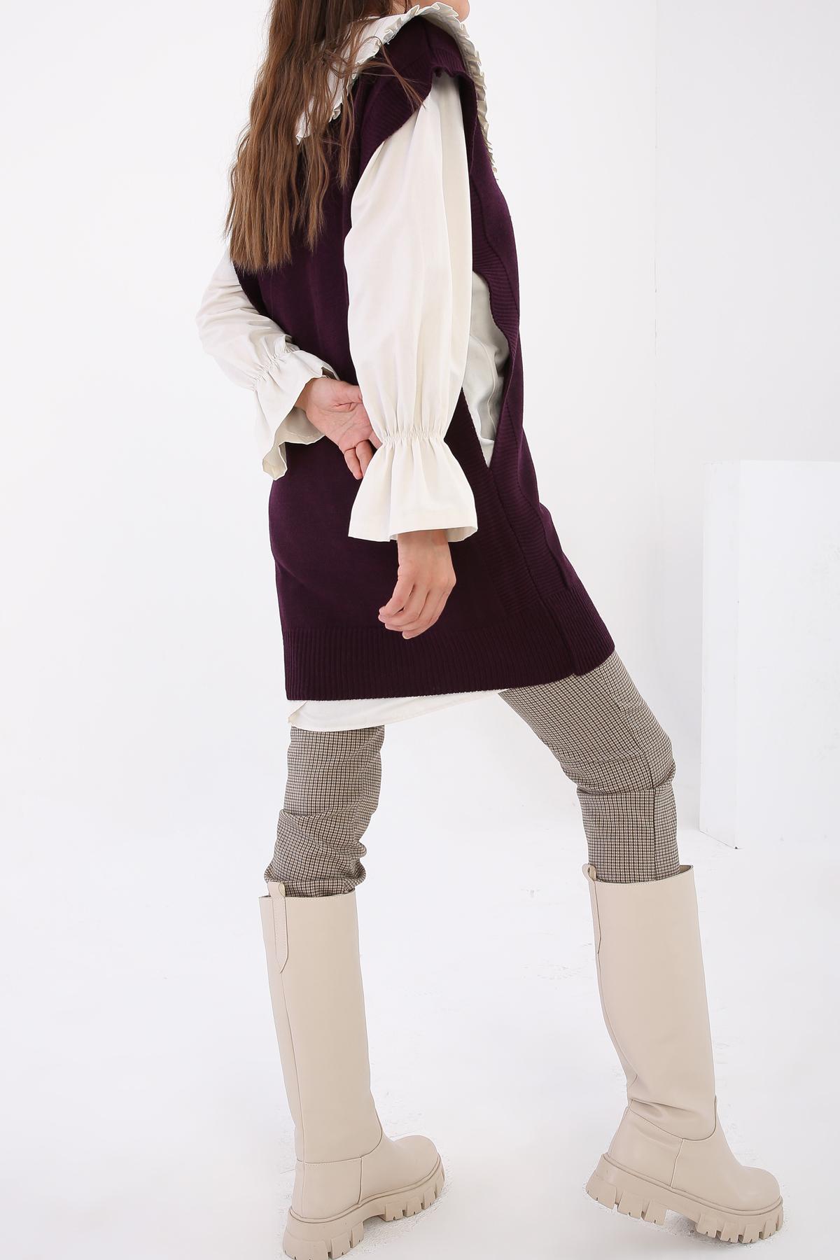 V Neck Comfy Knitwear Sweater