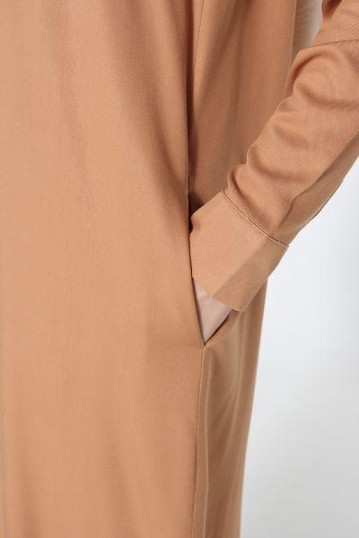 Pantolonlu Yırtmaçlı İkili Takım