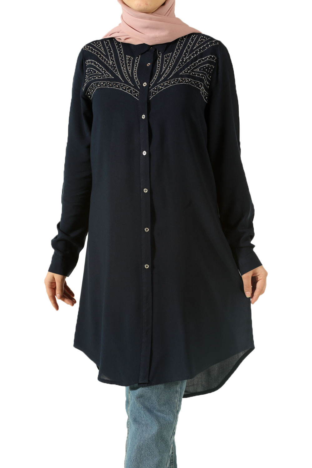 Western Embroidered Shirt TUNIC