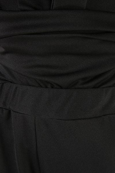 Yaka Bağlamalı Pantolonlu İkili Takım