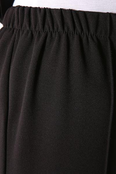 Yaka Detaylı Pantolonlu İkili Takım