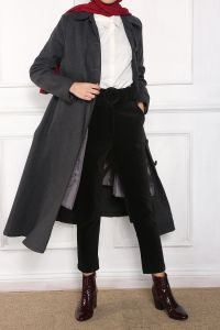 LINED OVERCOAT