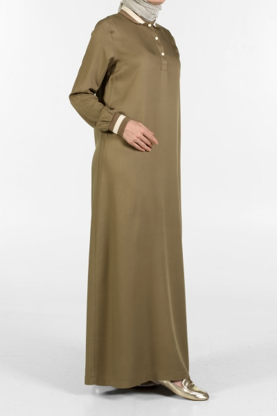 Polo Collar Dress