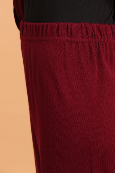 Yanlardan Düğmeli Pantolonlu Triko Takım