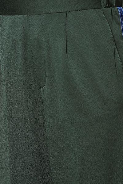 Yanları Kadife Şerit Kumaş Pantolon