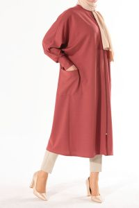 BATWING SLEEVE CAPE