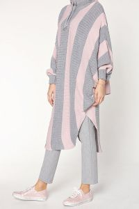 BATWING SLEEVE PONCHO