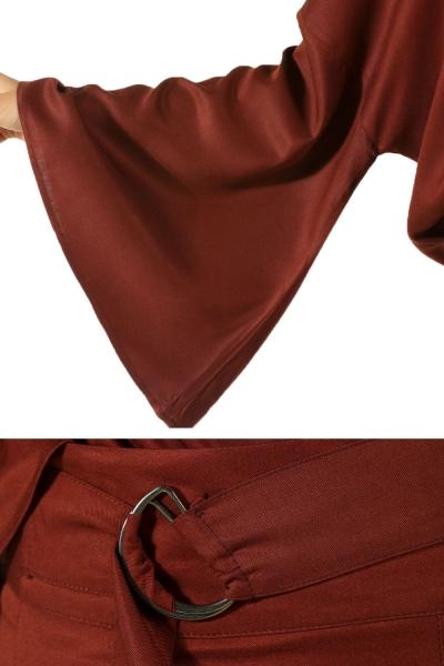 Batwing Sleeve Hijab Suit