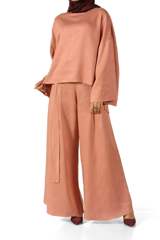 Yarasa Kol Pantolonlu Takım