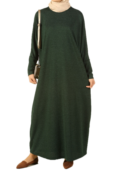 BATWING SLEEVE SALAS DRESS