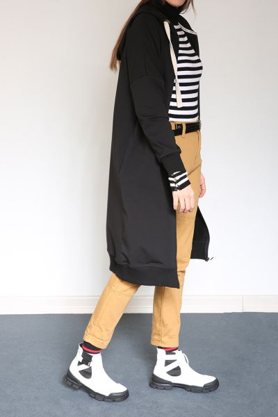 T-SLEEVE CARDIGAN