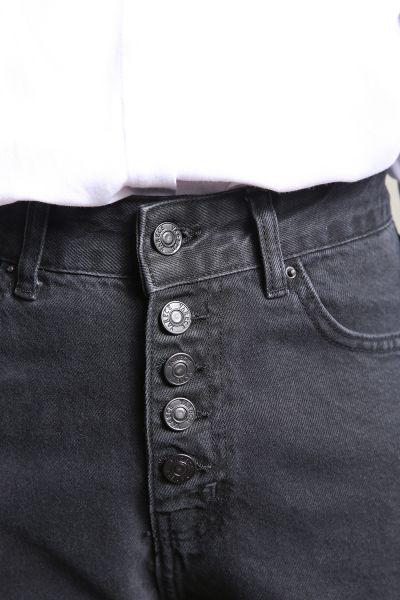 Yarece Mom Düğme Detaylı Cepli Pantolon