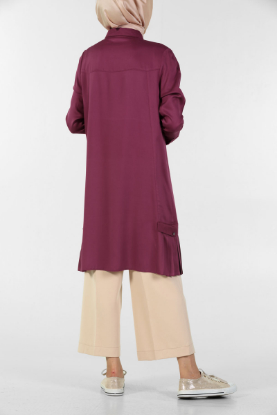 HALF CROWN PILEL TUNIC