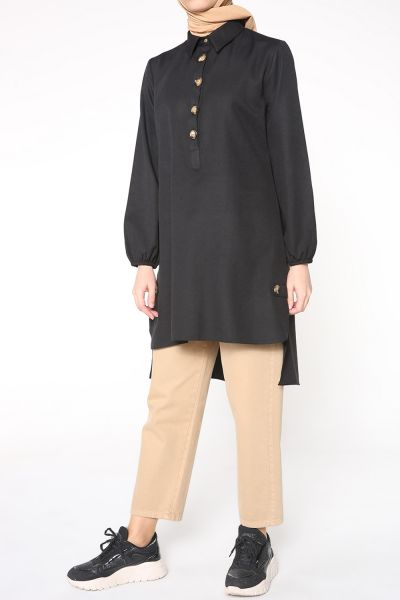 BUTTONED TUNIC