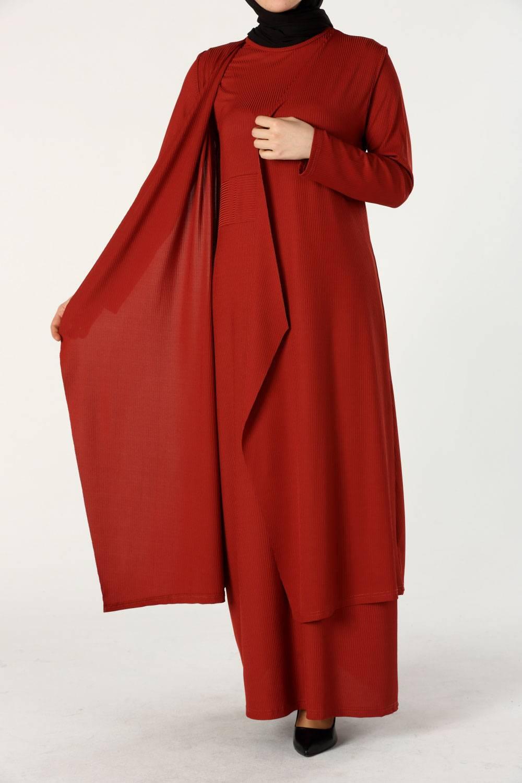 Yelek Elbise Takım