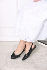 Yılan Derisi Desenli Sandalet