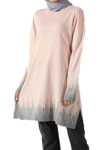 SPLIT KNITWEAR TUNIC