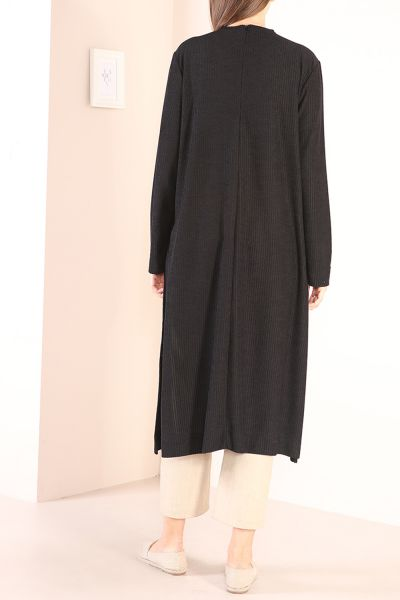 Yırtmaçlı Uzun Tunik