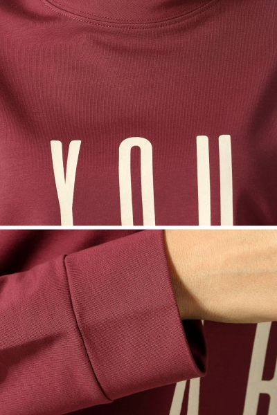YOU ARE ENOUGH PRINTED TUNIC