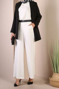 HIGH WAIST WIDE LEG HIJAB PANTS