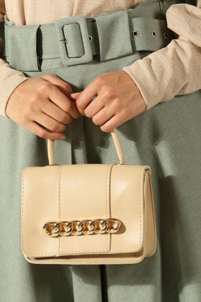 Zincir Detaylı Çanta