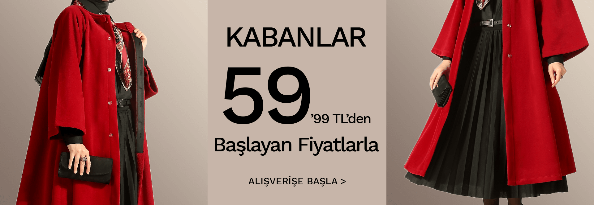 Kabanlar 59,99 tl