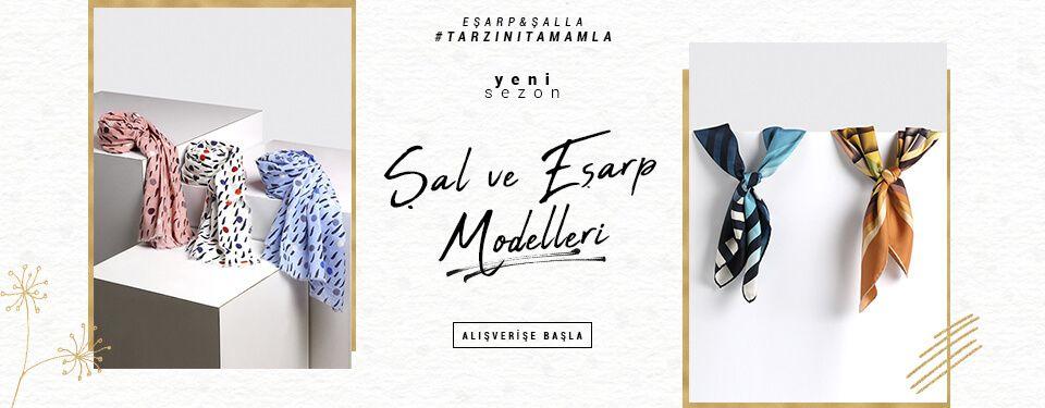 Şal&Eşarp Modelleri
