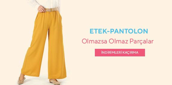Etek-Pantolon