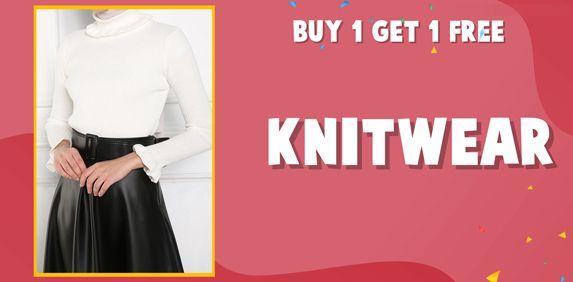 Buy 1 Get 1 Free - Knitwears