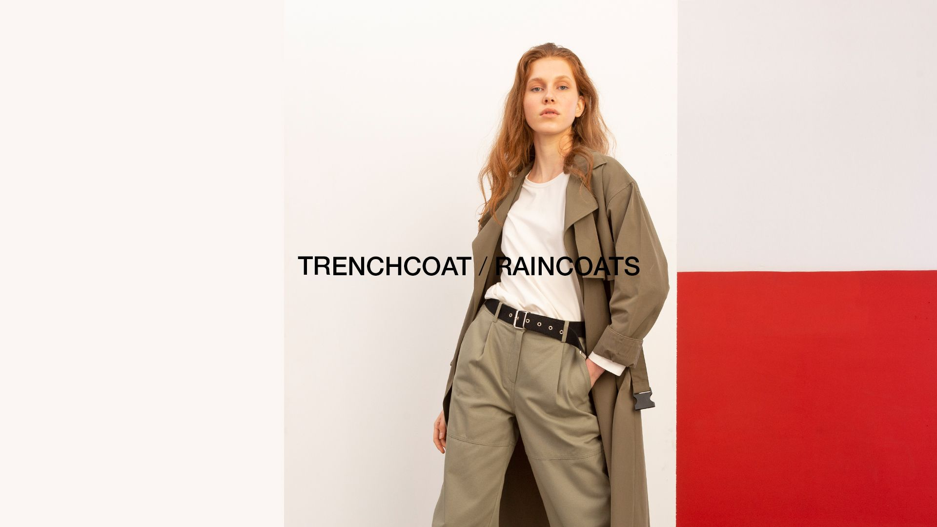 trench coat & raincoat